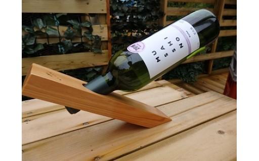 MUSASHINOワインセット&西川材ワインセラー