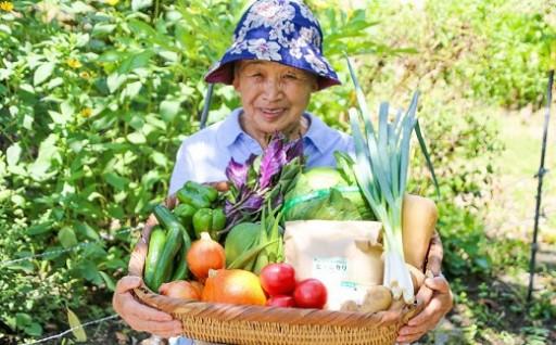 「よか野菜とよか米ばい、一度食べてみなっせ」