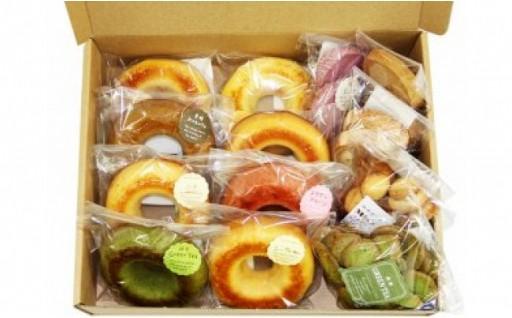 焼きドーナツ8種 クッキー6袋 セット