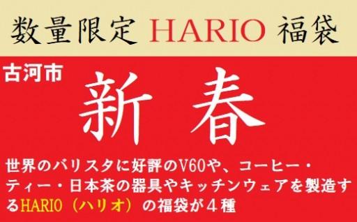 耐熱ガラスのHARIO!2019福袋が4種!【数量限定】