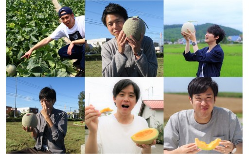 【先行予約受付中】2019年北海道栗山町産赤肉メロン!