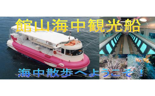 海中の透明度が上がるベストシーズン到来!海中観光船チケット