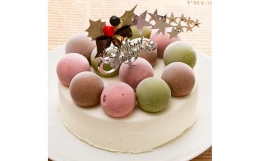 申込期限間近!!クリスマスのジェラートケーキ(ミルク)