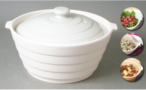 20品のレシピ付🍳有田焼 熱々のまま食卓へ「Only碗」