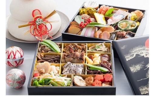 【申込12/24まで】清流庭園・山菜料理 玉貴の特選おせち重