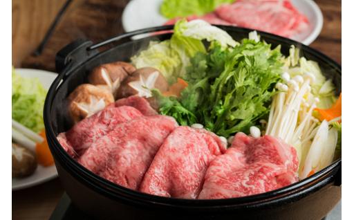 【旅色記念】肉質日本一!鳥取和牛の「ごほうびすき焼きセット」