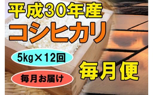 平成30年産米はえぬき、コシヒカリ他、定期毎月便好評受付中!