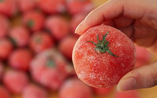毎日の料理に!便利な冷凍トマト