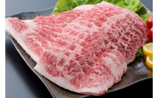 佐賀県産黒毛和牛 バラ(焼肉用)700g