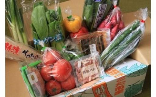 さんて四季オリジナル野菜・加工品セット(12ヶ月間定期便)