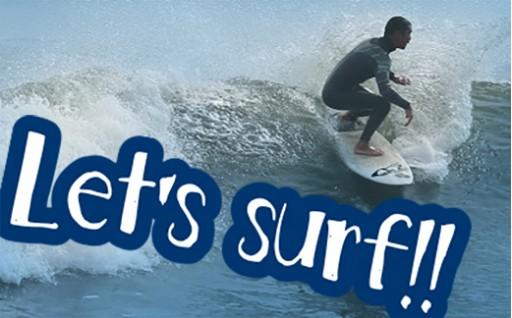横芝光町屋形海岸でサーフィンにチャレンジ!初心者歓迎です!