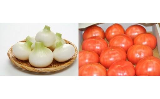 千葉県白子町産たまねぎ&トマト