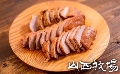 お肉の旨味溢れる上質な焼豚「常陸の輝き」もも焼5袋お届け!