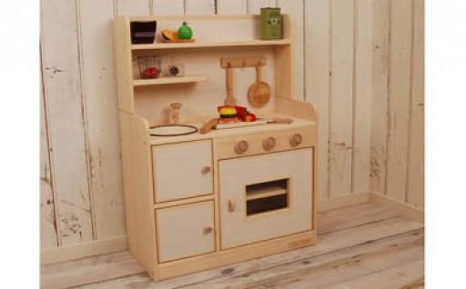 【職人技光る逸品!】手作りの温もり伝わる「ままごとキッチン」