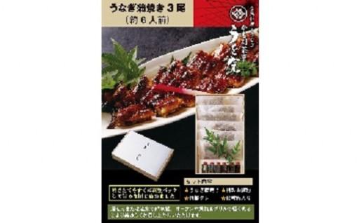 うなぎ蒲焼(3尾)