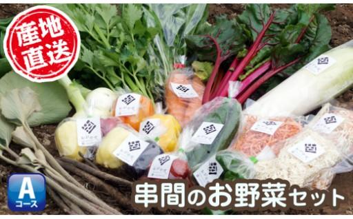 【串間市産】旬の新鮮野菜たっぷり詰合せセット
