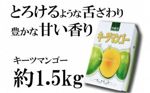神谷ファームのキーツマンゴー 約1.5kg(2~3玉)