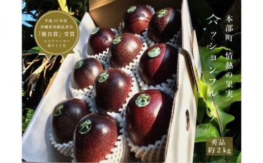 <山パ農園>情熱の果実(パッションフルーツ)2kg/秀品