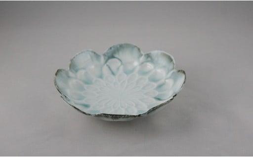 🌟いろいろな形のお皿特集🌟有田焼 菊型楕円小鉢2個セット