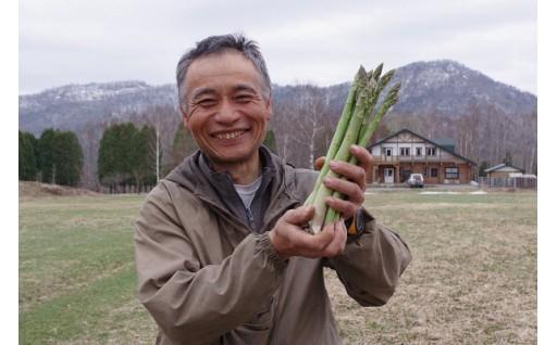 夕張の恵み春アスパラが新登場!