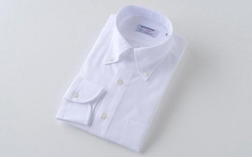 【HITOYOSHIシャツ】CANCLINI生地ボタンダウン