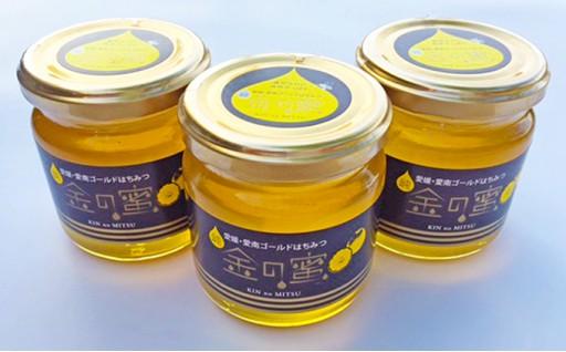 【金の蜜】愛南ゴールドの花ほぼ100%の純粋ハチミツ