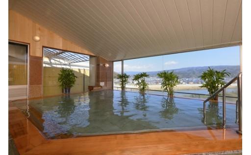 富士山と雄大な狩野川を望む温泉宿 おおとり荘のペア宿泊券