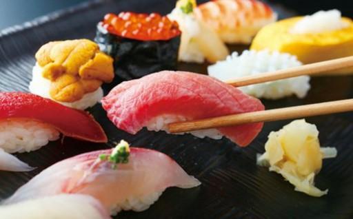 『寿司 まつばら』特上ディナーコースペアチケット×2枚