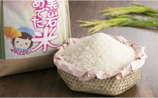低農薬・低肥料の無洗米「めでた米」