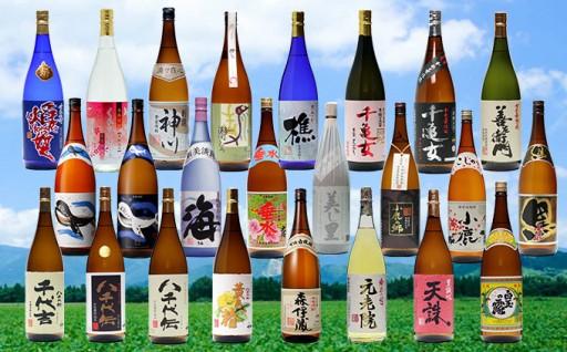 【森伊蔵】入り!大隅半島飲み尽くしプレミアム焼酎24本セット