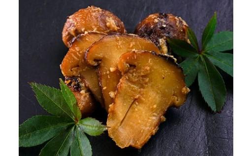 松茸をまるごと一本一本漬け込んだ最高級のお漬物