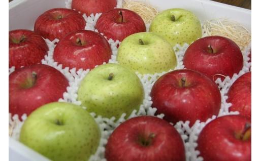 「つがるのりんごセレクション」(王林、ふじなどの詰め合わせ)