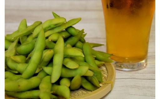 【新潟県聖籠町】蒸し暑い夜はうまい枝豆に冷たいビール!