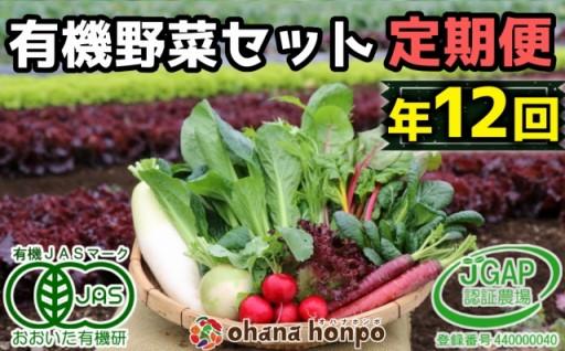 必見!有機JAS認証の野菜セットが毎月届く定期便!