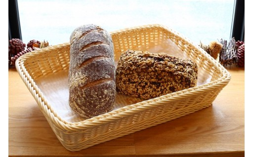 ダンケ自慢のレーズンたっぷりドイツパン!