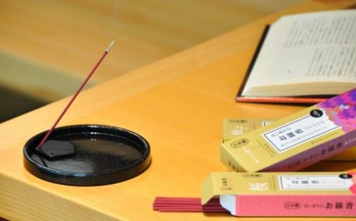 受け継がれた技術が作り出す、心安らぐ良い香りのお線香