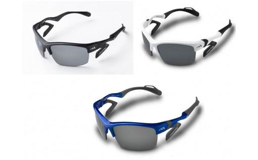 鼻パッドのないサングラス「エアフライ」(偏光レンズ)