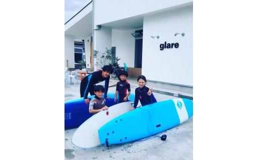 【glare surf】サーフィン体験スクール  小松海岸