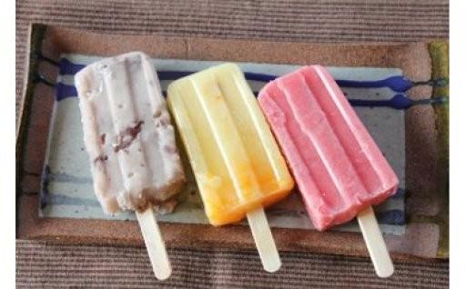 葛粉でつくった和風アイスです。上品な甘さは大人にもおすすめ♪
