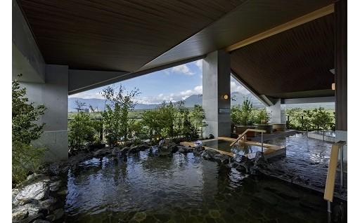 展望露天風呂からの那須の景色は絶景!