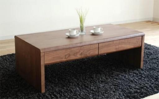 北欧風リビングテーブル「NEWベルグ Lテーブル」