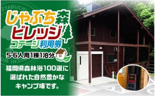 キャンプ場コテージ利用券 × JALふるさとへ帰ろうクーポン