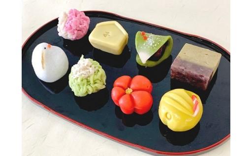 (12月発送)あずきの里厳選!京菓子職人の手作り上生菓子
