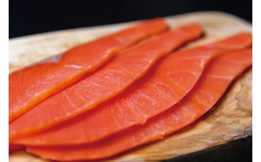 天然紅鮭無添加スモークサーモン