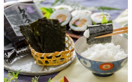 有明海が育んだ海苔を食べ比べ!