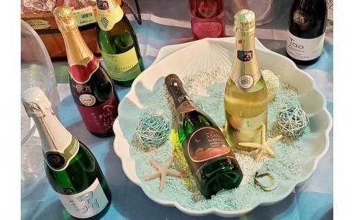 夏の終わり、静かなディナーはスパークリングワインで乾杯🥂