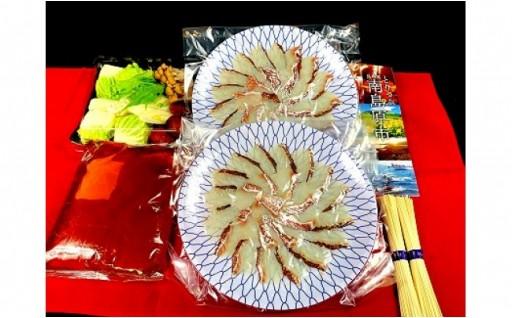 そろそろお鍋が食べたい季節!?鯛しゃぶ、乾麺セット!
