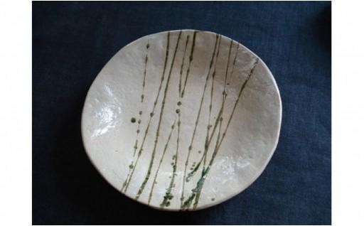勢いのある絵柄に料理も映える!水草柄パスタ皿2枚組