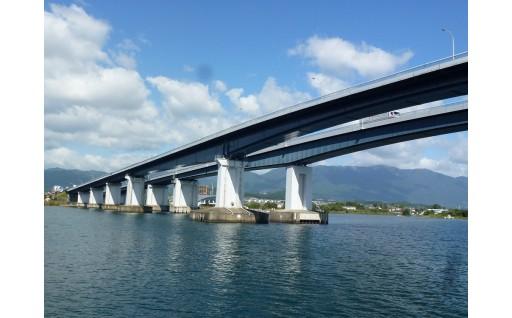 【数量限定!】【開催日限定】琵琶湖大橋探検ツアー開催!