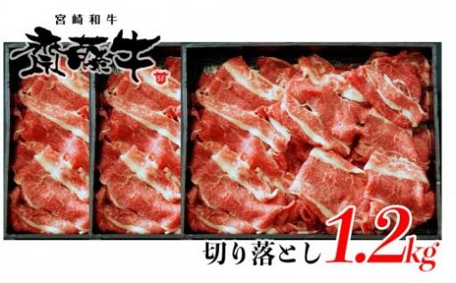 宮崎和牛「齋藤牛」切り落とし1.2kg
